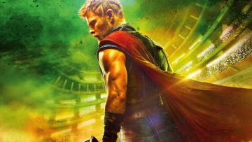 Chris Hemsworth in <i>Thor:Ragnarok</i>