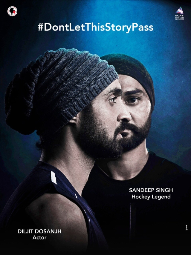 Diljit and Sandeep in a creative for <i>Soorma.</i>