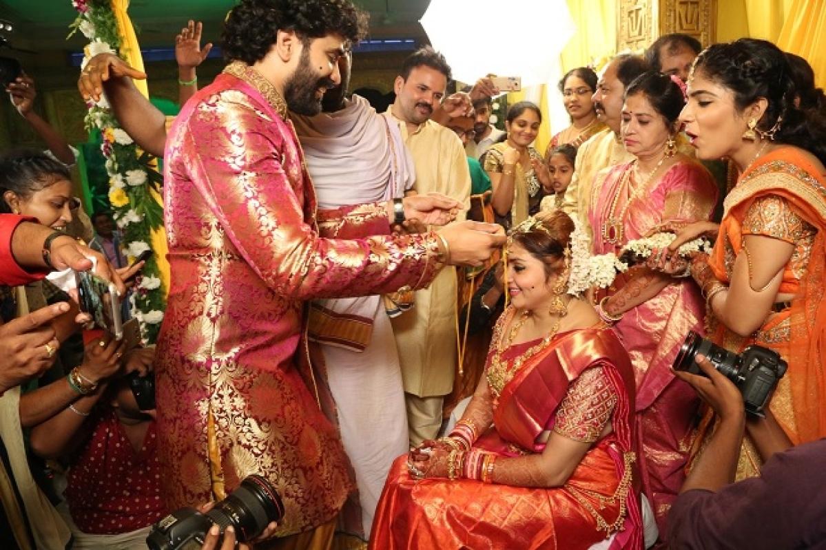 Actress namitha marriage pics namitha and veerandras wedding ceremony thecheapjerseys Choice Image
