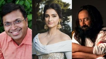 Devdutt Pattanaik, Sonam Kapoor have spoken up strongly against Sri Sri Ravi Shankar's comments.