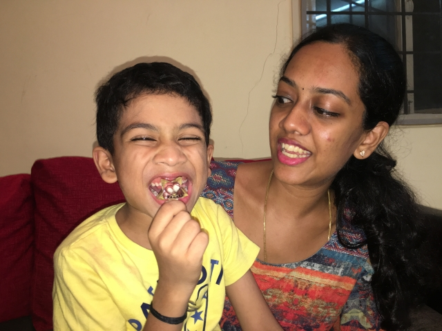 Preethy chanced upon this idea after her first child. She couldn't make a keepsake with breastmilk, so she made a beautiful item out of his first baby teeth.