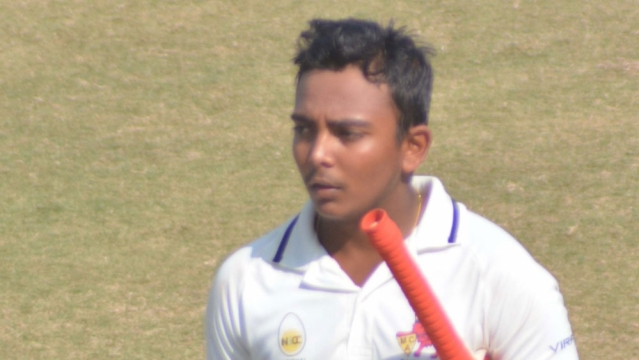 File photo of Prithvi Shaw.