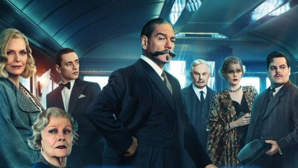 A poster of<i> Murder on the Orient Express</i>.
