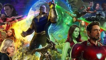 The <i>Avengers: Infinity War </i>poster.