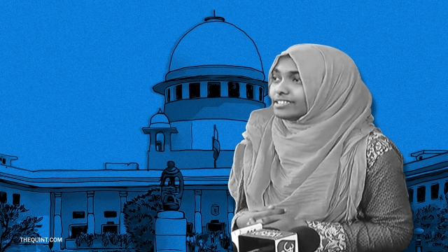 Hadiya finally appeared before the Supreme Court judges on Monday