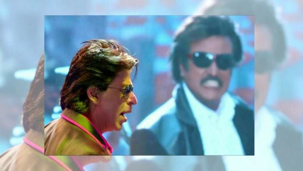 SRK could take a lesson from Rajinikanth in crowd control.