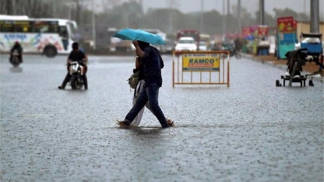 City gets 126 cm of rain against its annual share of 140 cm.