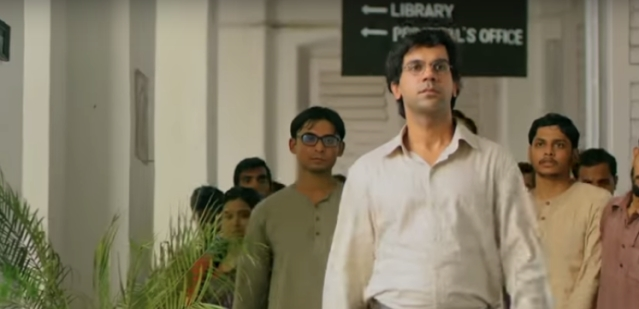 Rajkummar Rao essaying the role of Bose, as the poster boy of rebellion in <i>Bose: Dead/Alive.</i>