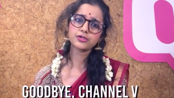 Paula Kutty, Lola Kutty's long-lost sister, says goodbye to Channel V.
