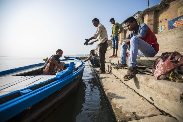 Dev Diwali, a lucrative time for the boatmen.