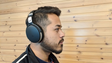 Sennheiser HD 4.5BT is wireless and offers noise cancellation.