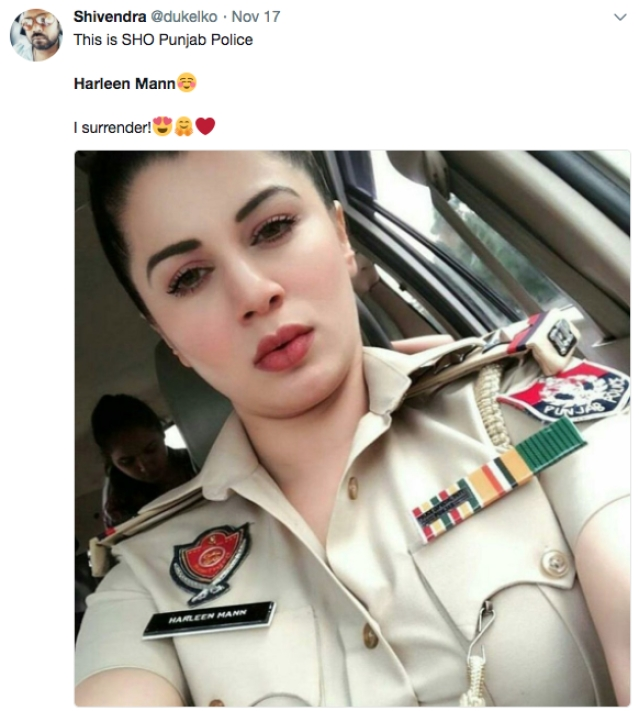 Viral News And Advertorial Writer: Who Is Punjab Police's Harleen Mann, And Why Is Her Photo