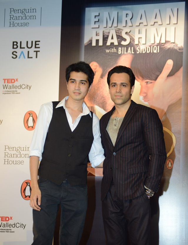 Bilal with Emraan Hashmi.