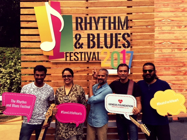 The Ministry of Blues at Rhythm and Blues Festival 2017.