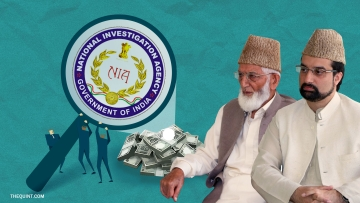 Image of Hurriyat leaders linked with terror funding in the Kashmir Valley used for representational purposes.