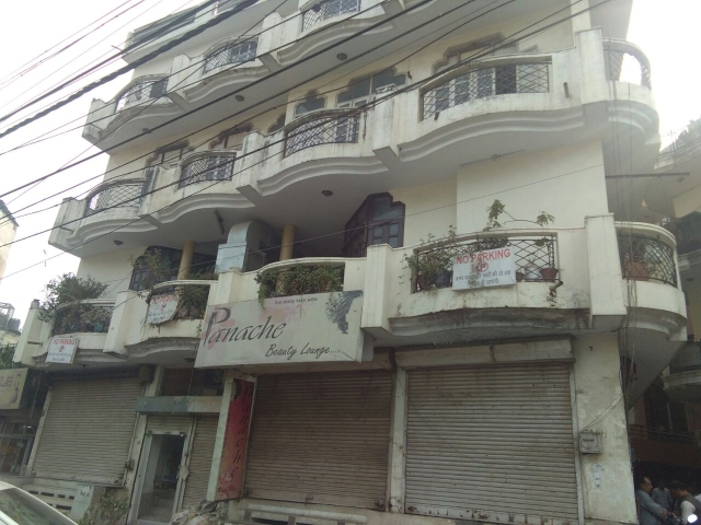 The building where Chandramukhi was found dead.