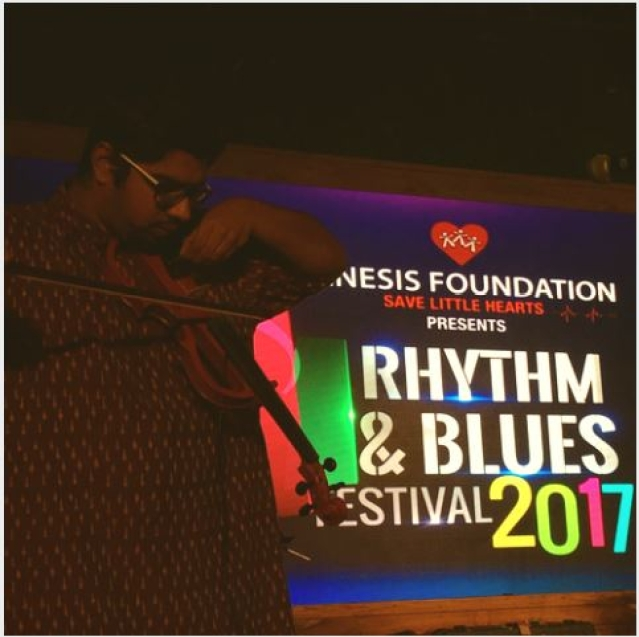 Rythm and Blues Festival 2017, Delhi.