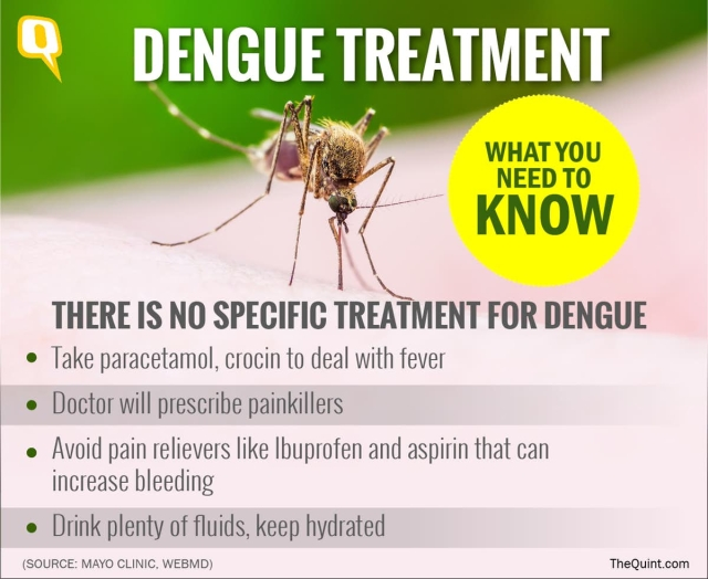 The illness which might follow dengue can be treated and avoided.