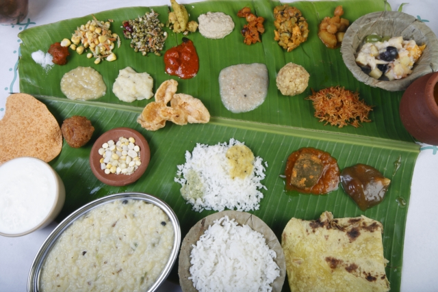 Pongal special feast.