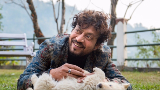 Irrfan Khan during the shoot of<i> Qarib Qarib Singlle</i>.
