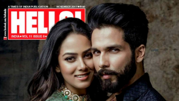 Mira Rajput and Shahid Kapoor adorn the cover of <i>Hello!</i>
