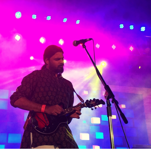 Neeraj Arya's Kabirs Cafe Performing at Rhythm and Blues Festival 2017, Delhi