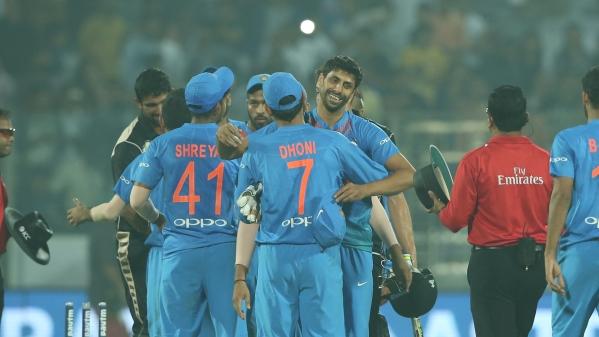 India beat New Zealand by 53 runs.