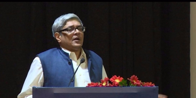 Bibek Debroy, the Chairman of PM Modi's Economic Advisory Council and renowned economist.