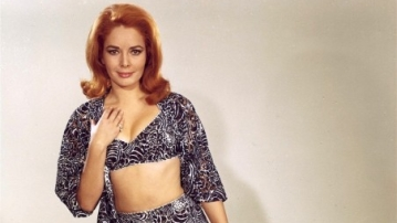 Karin Dor played Helga Brandt in the 1967 James Bond movie <i>You Only Live Twice</i>.