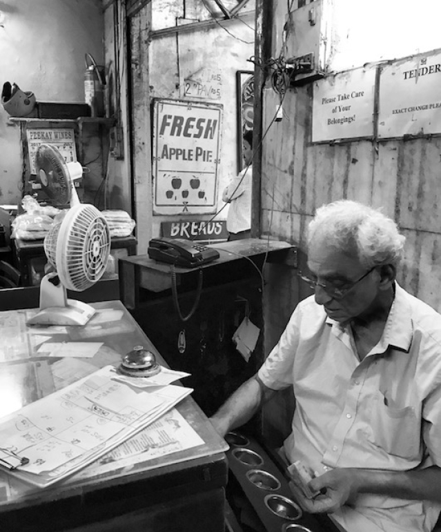 Parvez Zend, one of the three brothers running the Yazdani Bakery.
