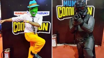 Mumbai Comic Con.