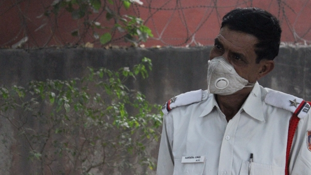 On-duty cop Narendra Singh.