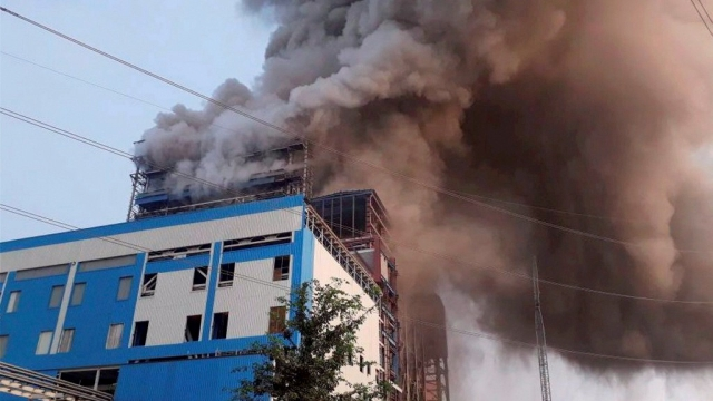 The blast at the NTPC plant in Unchahar left many injured.