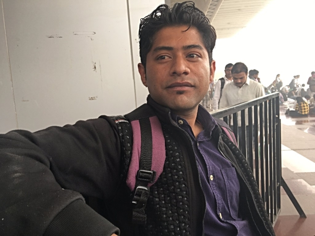 Devraj received a call for an interview on 8 November.
