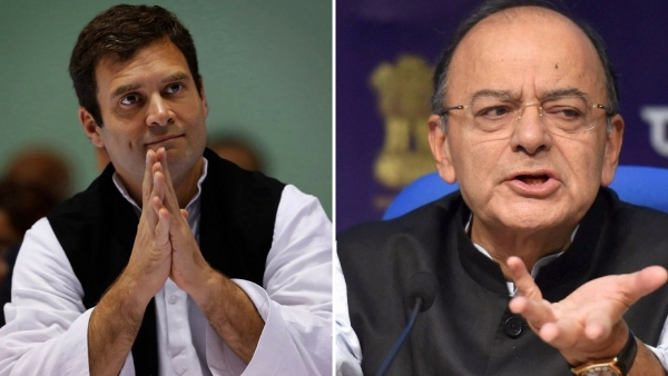 Jaitley Calls Rahul 'Clown Prince', Cong Terms FM 'Babble Blogger'