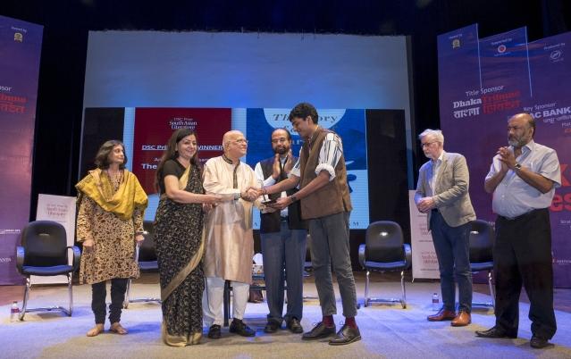 k Arudpragasam receives the aw