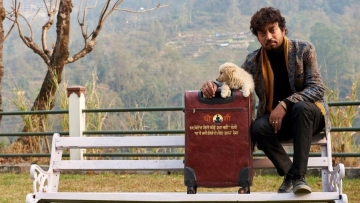 Irrfan Khan in a still from Qarib Qarib Singlle.