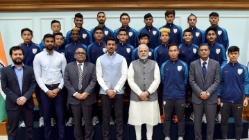 Narendra Modi said all teams displayed their best talent during the tournament held in India for the first time.