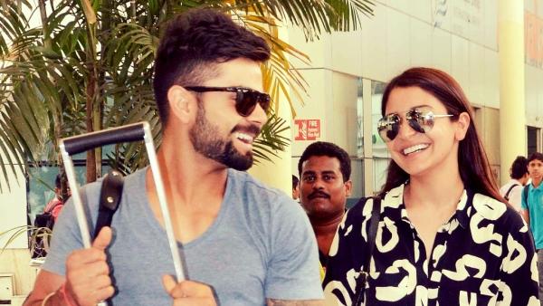 Virat Kohli and Anushka Sharma.