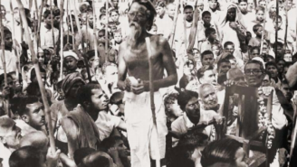 In 1951, Vinoba Bhave started the Bhoodan movement from Pochampally in Telangana.