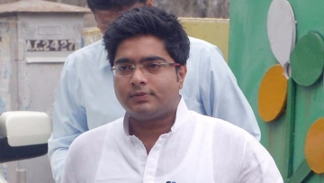 File photo of TMC MP Abhishek Banerjee.
