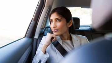 Only 4 percent of passengers in India wear seat belts in the rear seat, according to the Maruti-Kantar Group survey.