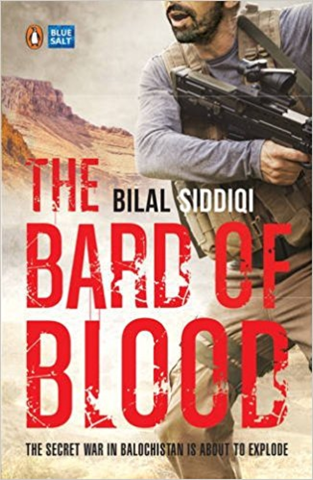 A cover of <i>The Bard of Blood.</i>