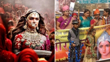 'Padmavati' has sparked a series of protests all across the country.