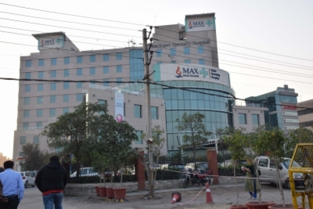 Max Hospital. (File Photo: IANS)