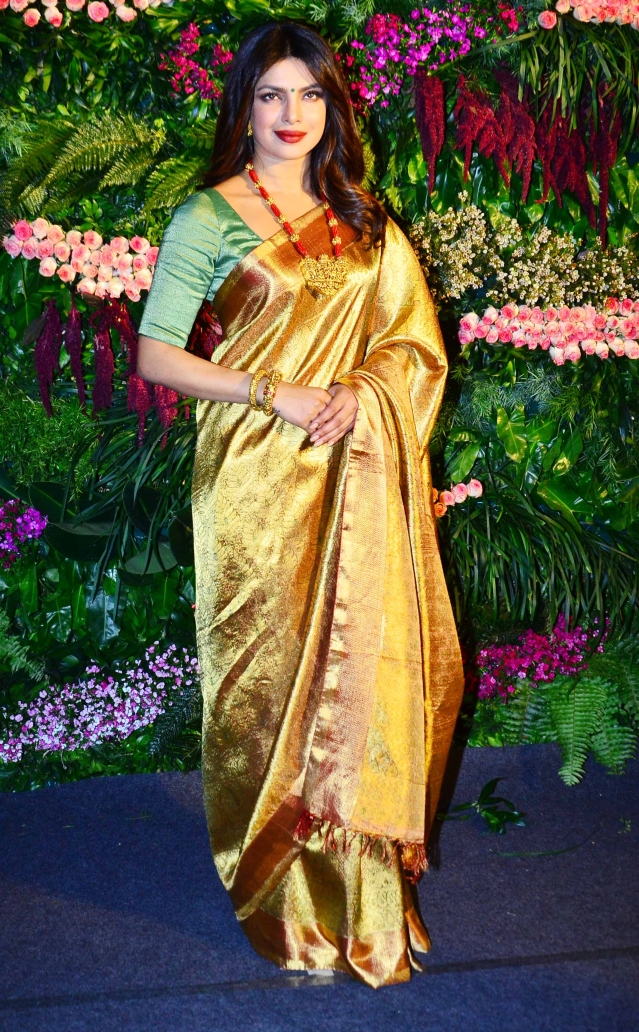 Is Priyanka Chopra channeling her inner Rekha?