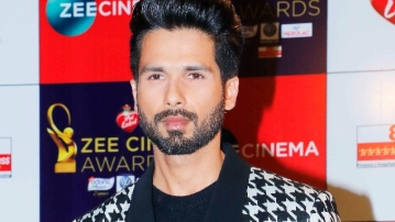 Shahid Kapoor speaks about <i>Padmavati </i>at Zee Cine Awards 2018.
