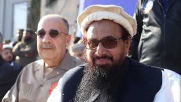 Walid Abu Ali, the Palestinian envoy, attended a large rally organised by the Difa-e-Pakistan Council in Liaquat Bagh in Rawalpindi, Pakistan, on Friday morning.