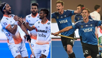 India are playing Olympic gold medallists Argentina in the semi-finals of the Hockey World League finals today.