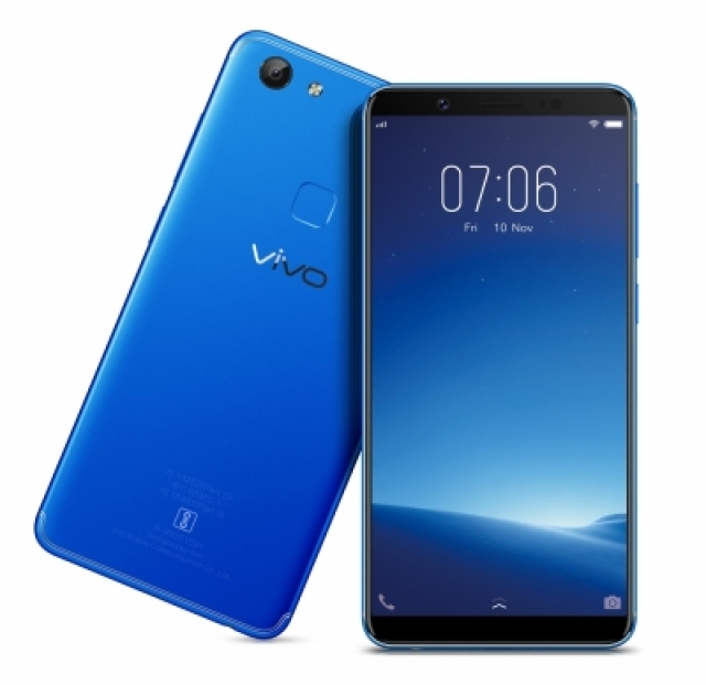 Vivo V7 Energetic Blue.